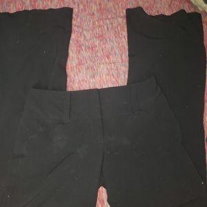 A. Byer black slacks sz 9